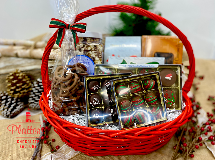Ultra Holiday Chocolate Basket