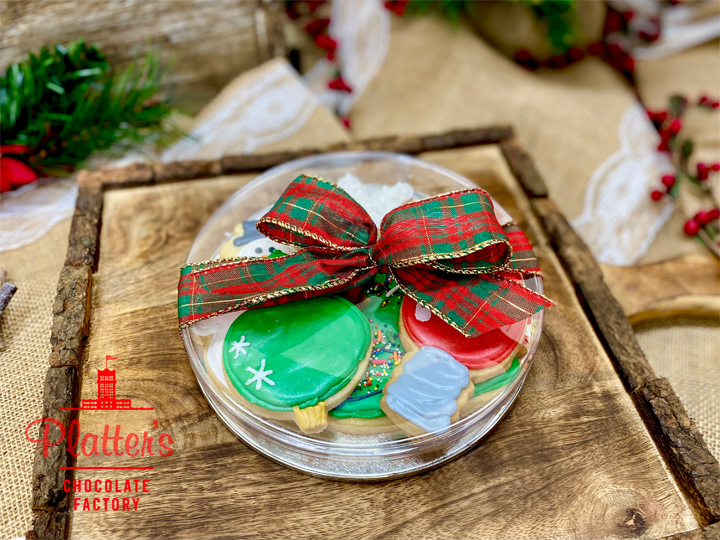 Corporate Christmas Shortbread Cookie Sampler